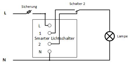 Smarte Unterputz Lichtschalter In Bestehende Verkabelung Einbauen Mootz Automation